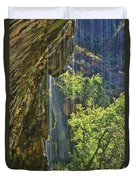 Weeping Rock - Zion Canyon Duvet Cover