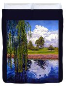 Weeping Willow - Brush Colorado Duvet Cover