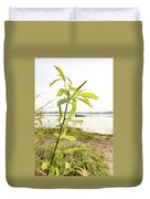 Weeping Willow Close To The River Duvet Cover