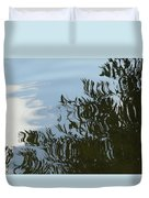 Weeping Willow Reflection Duvet Cover