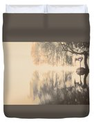 Weeping Willow Woman Duvet Cover