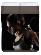 Weightlifting Duvet Cover