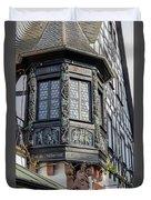 Wein Window Duvet Cover