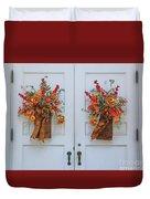Welcome Doors Duvet Cover