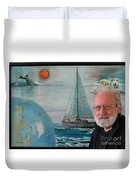 Welcome To My Paintings In The Irish Embassy, Ottawa, Canada Duvet Cover