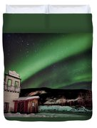 Welcome To Dawson City Duvet Cover