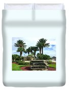 Welcome To Downtown Cocoa Beach Duvet Cover