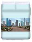 Welcome To Houston Duvet Cover