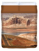 Welcome To Lake Powell Duvet Cover