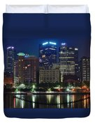 Welcome To Pittsburgh Duvet Cover