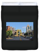 Welcome To Pittsburgh Pa Duvet Cover