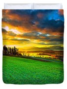 Welcome To Switzerland Duvet Cover