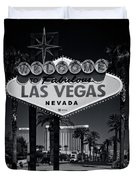 Welcome To Vegas Xi Duvet Cover