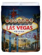 Welcome To Vegas Xiii Duvet Cover