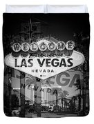 Welcome To Vegas Xiv Duvet Cover