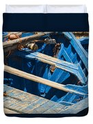 Well Used Fishing Boat Duvet Cover