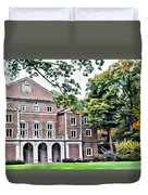 Wellesley College Walsh Alumni Hall Duvet Cover