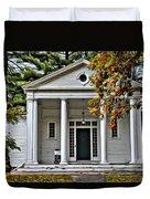 Wellesley College Zeta Alpha Duvet Cover