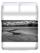 Welsh Coastal View From The Great Orme  Duvet Cover