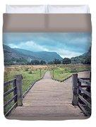 Welsh Landscape Duvet Cover