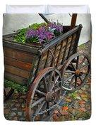 Weltladen Cart Duvet Cover