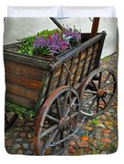 Weltladen Cart Duvet Cover