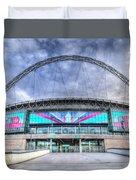 Wembley Stadium Wembley Way Duvet Cover