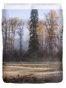 Wenatchee River, Fall 2015 Duvet Cover