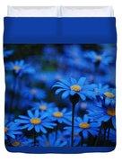 We're All Blue Duvet Cover