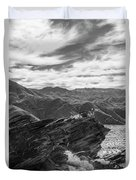 Were Andreas Meets Murray Bw 2 Duvet Cover