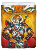 Werecat Warrior Duvet Cover