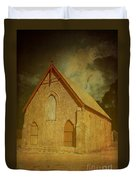 Wesley Church, Greenough, Western Australia Duvet Cover
