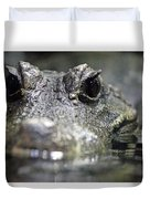 West African Dwarf Crocodile - Captive 03 Duvet Cover