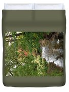 West Branch Of The Rifle River Duvet Cover