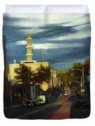 West Brighton - October Duvet Cover