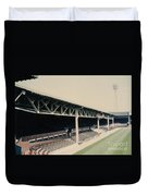 West Bromwich Albion - The Hawthorns - Halfords Lane West Stand 1 - 1970s Duvet Cover