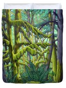 West Coast Landscape Painting Duvet Cover