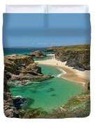 West Coast Of Portugal Duvet Cover