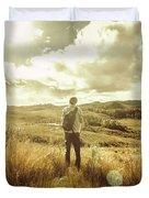 West Coast Tasmania Explorer Duvet Cover