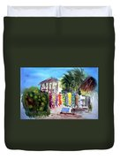 West End Market Duvet Cover
