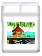 West End Roatan Duvet Cover