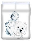 West Highland White Terriers Duvet Cover