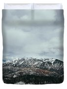 West Needle Mountain Duvet Cover
