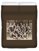 West Point: Track, 1896 Duvet Cover