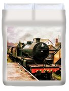 West Somerset Railways Train. Duvet Cover