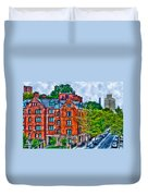 West Village By The High Line Duvet Cover