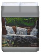 West Virgina Water Falls Duvet Cover