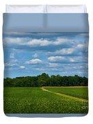 West Virginia Field  Duvet Cover