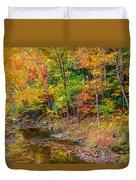 West Virginia Paradise Duvet Cover