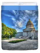 West Virginia State Capitol Building No. 2 Duvet Cover